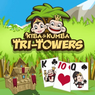 Kiba Kumba Tri Towers Solitaire